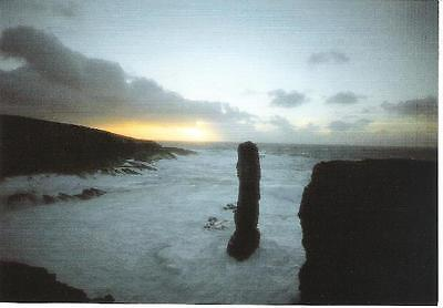 Yesnaby, Orkney - Castle (rock stacks) - postcard c.1990s