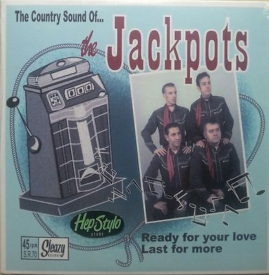 THE JACKPOTS 45-READY FOR YOUR LOVE/LAST FOR MORE-COUNTRY 60s BAKERSFIELD SOUND