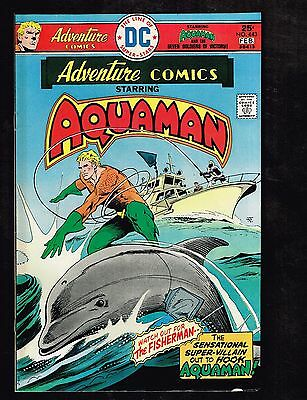 """Adventure Comics #443 ~ """"The Dolphin Connection"""" ~ (9.2) 1976 WH"""