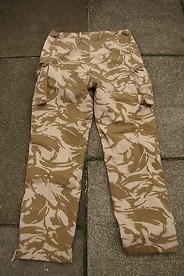 British Army - SF Issue Desert Windproof - Combat Trousers