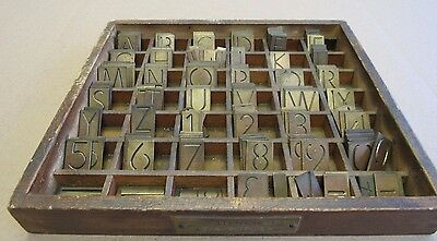 3/4 Futura Stencil  Brass Engraving Letter Number For Gorton /deckel Pantograph
