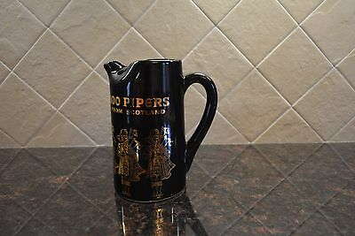 100 Pipers From Scotland Ceramic Pitcher
