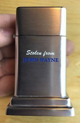 "Zippo John Wayne ""stolen From"" 1953 Super Clean Lighter..."