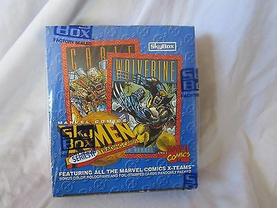 Marvel SkyBox X-Men Series II Trading Cards 36 Count Factory Sealed Box (BH)