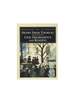 Civil Disobedience (Penguin Classics 60s) by Thoreau, Henry David Paperback The