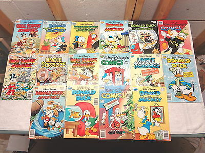 Lot of 16 Disney Comics~Marvel~Donald Duck~Mickey Mouse~Scrooge~VGC!
