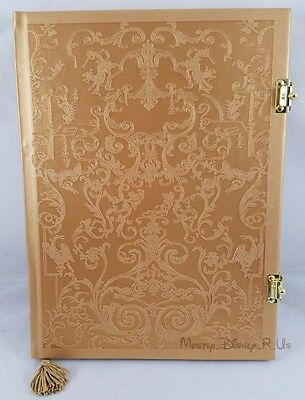 New Disney Store Beauty and the Beast Belle Hardbound Journal - Live Action Film