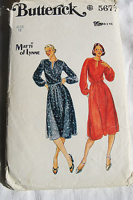 vintage sewing patterns Butterick no 5677