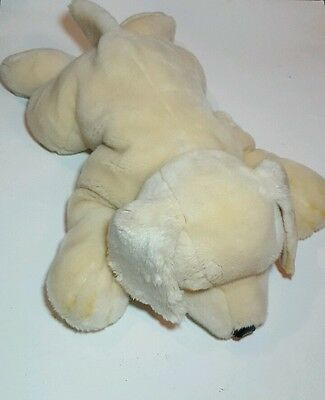 fao schwarz large yellow lab - plush - stuffed animal