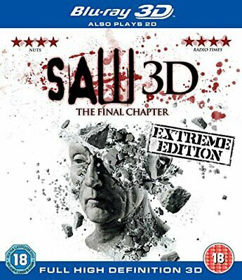 Saw 3D: The Final Chapter (Blu-ray + Blu-ray 3D) - DVD  RUVG The Cheap Fast Free