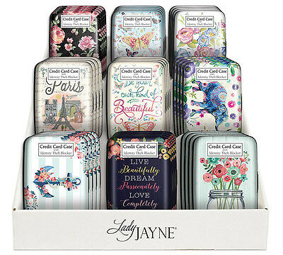 Punch Studio Lady Jayne Women's Identity Theft Blocker Credit Card Case Designs