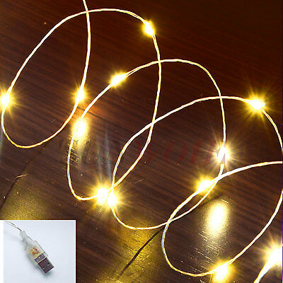 Warm (usb powered) 10M 100LED Micro Wire String Fairy Light Wedding Patry Lights