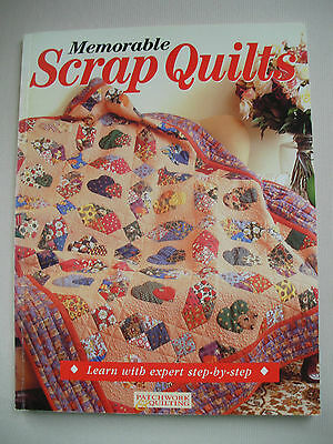Memorable Scrap Quilts - Craftworld Books - Quilting Pattern Book - 14 Designs