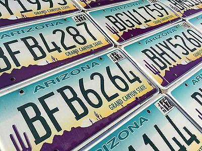ARIZONA License Plate - Flat Desert Graphic Grand Canyon State - Pick Your Plate