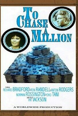 """16mm Feature """"TO CHASE A MILLION"""" (1967) UK """"MAN IN A SUITCASE"""" Richard Bradford"""