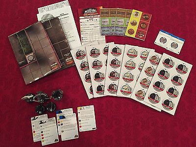 Heroclix Hobbit Lord of the Rings lot - 207 Witch-King of Angmar, 208 Sauron mor