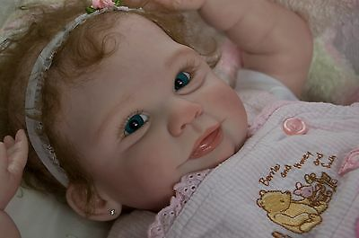"Reborn Doll kit ""JOY"" by Samantha Gregory, FULL limbs, FREE body, 21 inches"