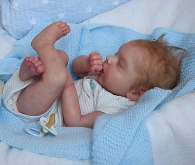 "Reborn Doll kit ""CLARK"" by Samantha Gregory, FULL limbs, FREE body, 19 inches"