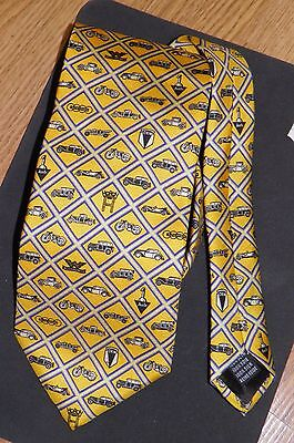 "Audi ""Heritage"" Necktie - yellow golden color"