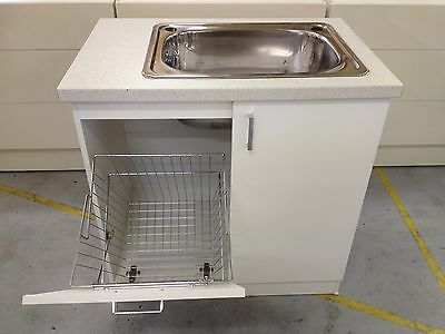 Laundry cabinet Australian Made,cupboard, sink cabinet,laundry tub,laminated top