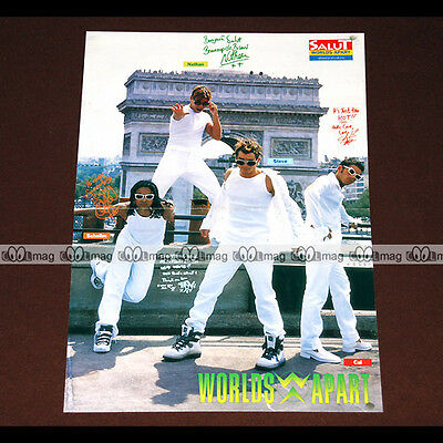 WORLDS APART Nathan, Steve, Schelim & Cal (Boys Band 90's) - Poster #PM963