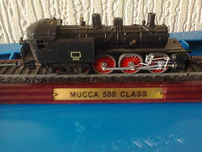 Mucca 500 Class Model Train On Wooden Stand