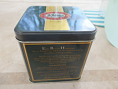 "Collectable "" Emu Bottom ""Anzac biscuit tin .  Circa 1995"