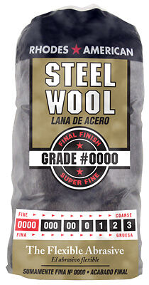 HOMAX PRODUCTS 12-Pack #0000 Super Fine Steel Wool Pads