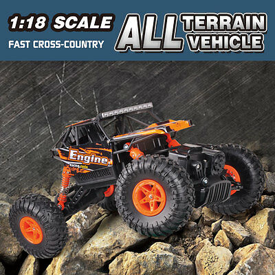 WLtoys 18428-B 1/18 2.4G 4WD RC Off-road Car Crawler Remote Control Truck Hobby