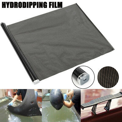 20M Hydrodipping Film Carbon Fiber Water Transfer Hydrodipping DIP Film Blcak