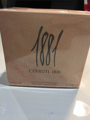 Cerruti 1881 Pour Femme 100ml EDT spray BRAND NEW in wrapping