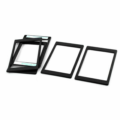 Computer Plastic 7mm to 9.5mm HDD SSD Hard Drive Thickening Pad Frame Black 5pcs
