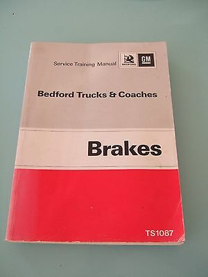 Vintage 1970's Bedford Trucks and Coaches Service Manual No/ TS1087 Excellent