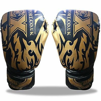 Children New Muay Thai Fight Boxing Sparring Punch Bag Training Gloves Pads UFC