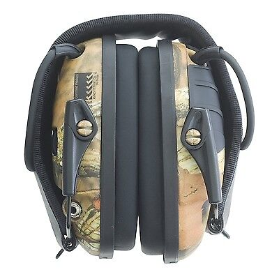 Howard Leight Impact Sport Camo Shoot Range Electronic Earmuffs Protection Hunt