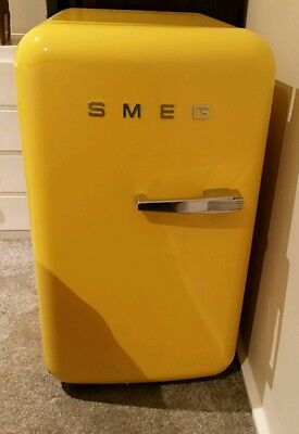 Smeg Mini Bar Fridge(Yellow)Brand New