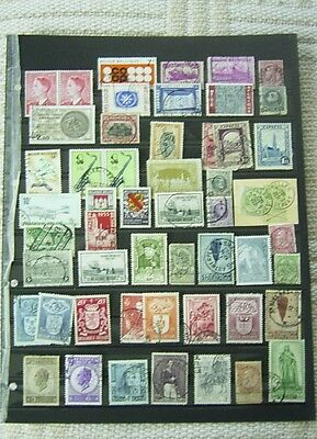 Belgium Used Stamp Selection