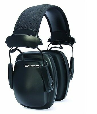 Howard Leight SYNC Stereo Earmuff Muff w/MP3/iPod Jack Hearing Protection (31dB)