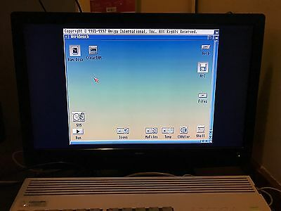 "LCD screen (22"") for Commodore Amiga computers"