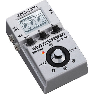 Zoom MS-50G Multi-Stomp Box Guitar Effects Pedal