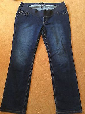 Blooming Marvelous Size 16 Maternity Jeans