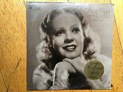 LP  SEALED !!!   Alice Faye – In Hollywood (1934-1937) Label: Columbia Special
