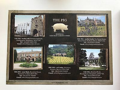 £100 Voucher For The Pig Hotel Group.