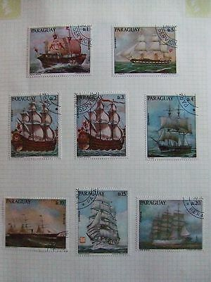 Paraguay ships collection