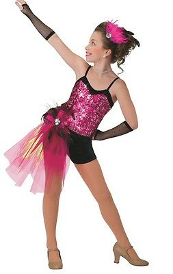 New Costume Gallery #15328  ballet tap tutu recital pageant dance Large ch 12-14