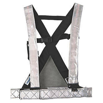 FHOSS Filux Self-Illuminated Hi Vis Safety Harness One Size