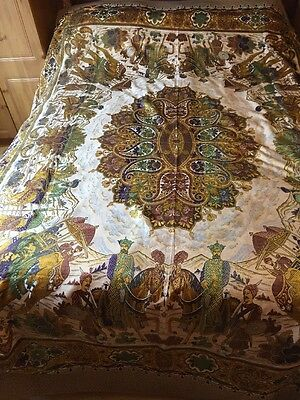 Original Beautiful Authentic Tablecloth/Wall Hanging/ Throw From India