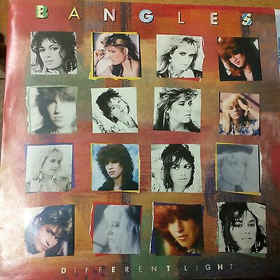 Bangles;different Light,1986,cbs 26659,a-2,b-2 Etched
