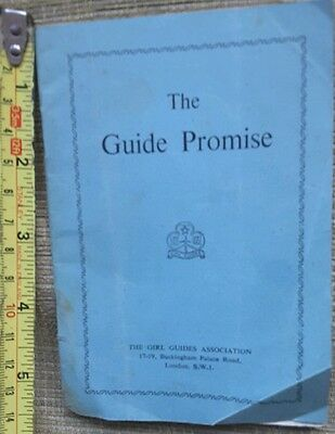 Old Guide Promise Book from 1951