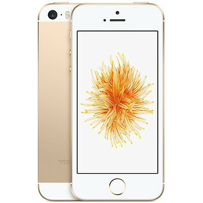 Apple iPhone SE (FACTORY SEALED) 16GB - Gold (UNLOCKED) Smartphone